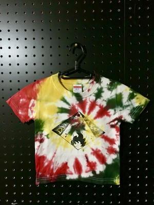 子供用タイダイTシャツ(100)