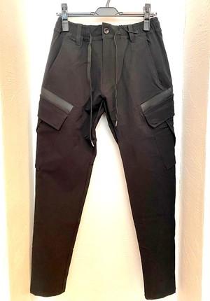 Nylon Cargo Pants Black