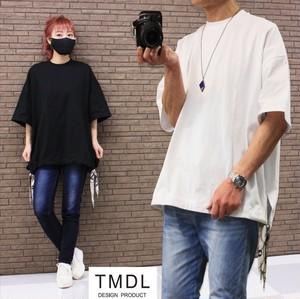 TMDL《スカーフ紐飾りルーズカットソー》2色★