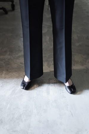Acne Studios / wool tapered trousers (Black)
