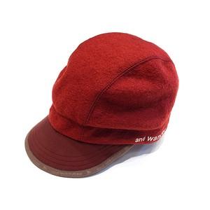 【and wander】air wool cap
