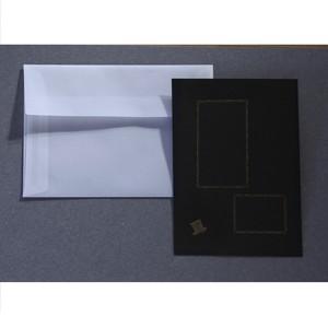 【活版】X'mas カード・シルクハット