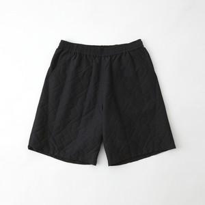 PARQUEST JACQUARD EASY SHORT PANTS - BLACK