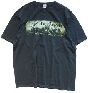 【2X】 00s デビルズ・リジェクト Tシャツ DEVIL'S REJECTS ロブ・ゾンビ 映画 ホラーTシャツ ヴィンテージ 古着