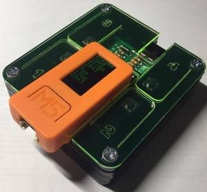 M5StickC用拡張4キー補助電池デバイス - M5STICKC-4KEYA4
