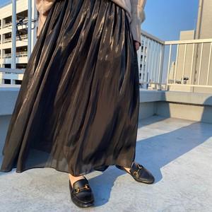 B-chad シャイニーロングスカート