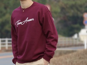 ThreeArrows スウェット(bordeaux)