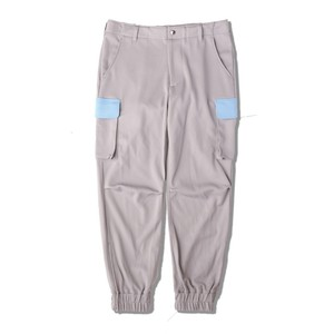 JERSEY CARGO PANTS / GRAY