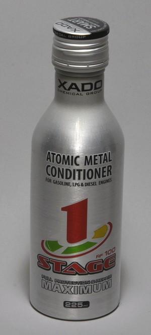 XADO アトミックメタルコンディショナー 「マキシマム 1ステージ」 (box, bottle 225 ml) [XA 42212]