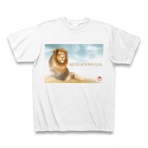 リーハイTシャツ・白(黙示録12章11節)