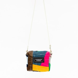 """ GREEN LINE ""  shoulder bag #1"