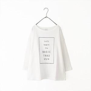 Nouvelles du paradis スラブ天竺プリントTシャツ/OFF
