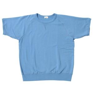Men's 裏毛半袖スウェットシャツ