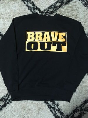 【NEW】BRAVE OUT (Youth) Crew Neck