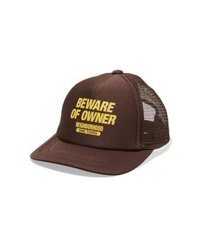 NEIGHBORHOOD ONE THIRD BEWARE / E-CAP ( ブラウン  )  ネイバーフッドワンサード