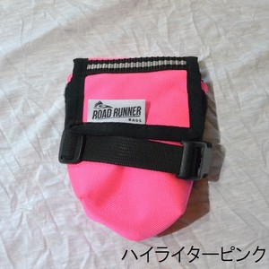 RoadRunnerBags / The Drafter Saddle Bag ハイライターピンク