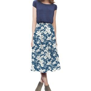 花柄 スカート 0001-B