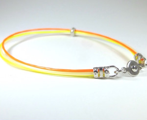 """Tricolor Ring ブレスレット&アンクレット """"CHEER YOU UP!"""""""