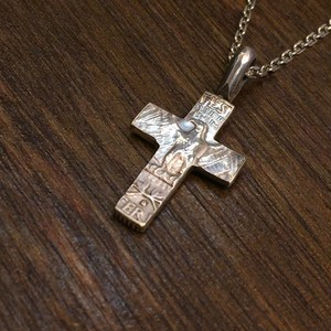 25¢REAL CROSS PENDANT  N-061