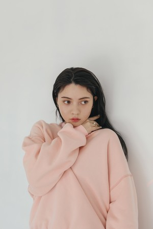 Sweat shirt(baby pink)