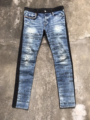 HYSTERIC GLAMOUR / switching denim pants