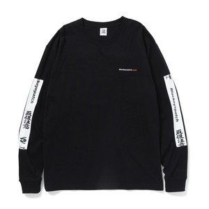 BLACK EYE PATCH / HANDLE WITH CARE L/S TEE