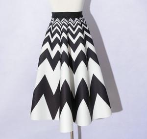 RIMI&Co. SELECT  ネオプレーンフレアースカート 2Color