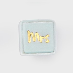 THE MRS.BOX(ザ・ミセスボックス)クラシックサイズ「mrs」WESTERY(アイスブルー)