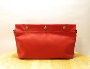 ショルダー・クラッチバッグ <JH clutch / red>