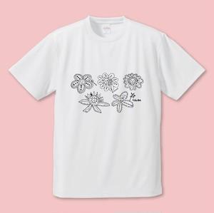 まなっぴっぴ おはなばたけTシャツ