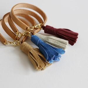 "Bracelet ""Mol Suede Tussel"""