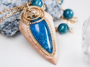 【青】海の宝石/N457-1