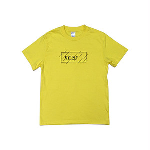 scar /////// OG KIDS TEE (Yellow) 6.2oz