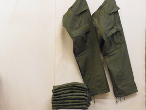 US ARMY/JUNGLE FATIGUE PANTS/RIPSTOP(DEADSTOCK)