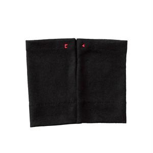 【リストマフラー】225 ブラック/ウール100%/手首の冷え取り/差し色に