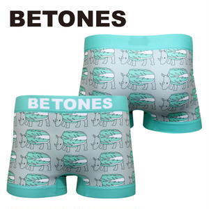 【BETONES】HAKUSAI GREEN / ビトーンズ ダジャレシリーズ☆ メンズ ボクサーパンツ 4582339720256