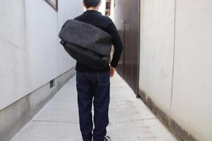"""""""限定""""デニム生地のメッセンジャーバッグMサイズ"""