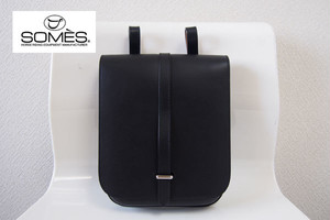 【Sold Out】<ソメスサドル|SOMES SADDLE>ダンプポーチ|ブラック