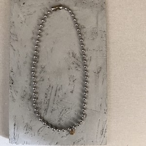 stainless silver necklace