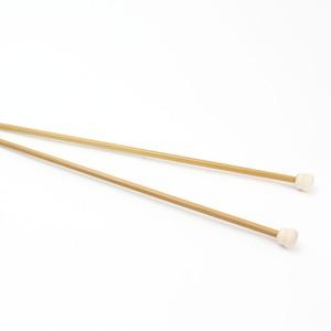 【竹製硬質】玉付 2本針 35cm 12号-15号