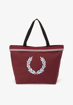 TWIN TIPPED TOTE BAG MAROOM