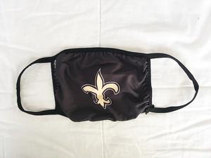 大人用 マスク 布マスク 洗える 水洗い NFL ニューオーリンズ セインツ New Orleans Saints 2943