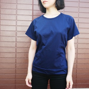 P raglan cut&sew  Light navy  ykcs-103