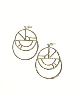 EG005S 【G-5 silver earrings】