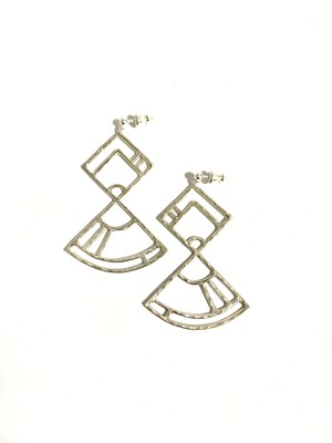 EG003S 【G-3 silver earrings】