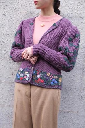 toride knit cardigan.