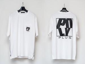 POLYPLUS サイドZIP ルーズTシャツ