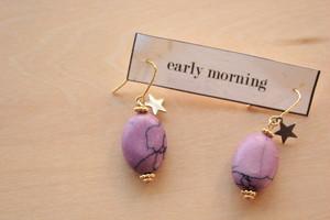 stone Purple ピアス