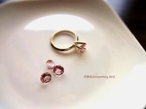 【受注生産】Enochシリーズ■ピンクトパーズの指輪