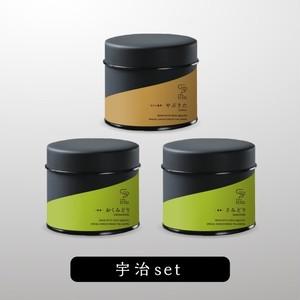 宇治茶3種セット 30g茶缶